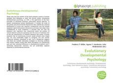 Bookcover of Evolutionary Developmental Psychology