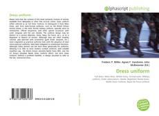Buchcover von Dress uniform