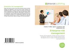 Обложка Enterprise risk management