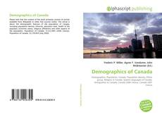 Bookcover of Demographics of Canada
