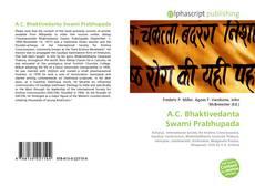 Bookcover of A.C. Bhaktivedanta Swami Prabhupada
