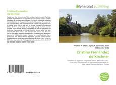 Borítókép a  Cristina Fernández de Kirchner - hoz