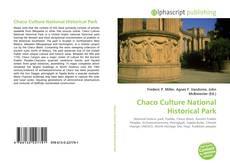 Portada del libro de Chaco Culture National Historical Park
