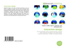 Bookcover of Interaction design