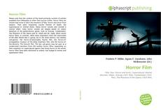 Bookcover of Horror Film