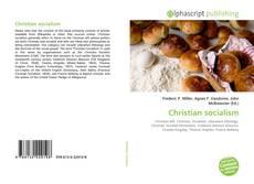 Обложка Christian socialism