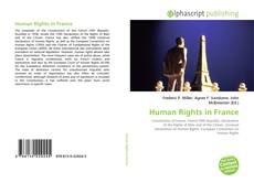 Bookcover of Human Rights in France