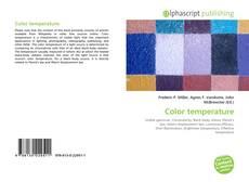 Bookcover of Color temperature