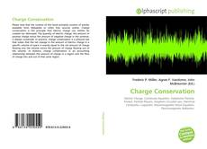Bookcover of Charge Conservation
