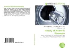 Buchcover von History of Alcoholic Beverages