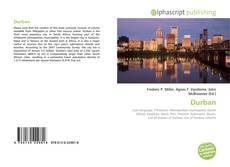 Portada del libro de Durban