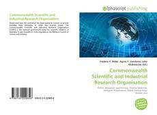 Bookcover of Commonwealth Scientific and Industrial Research Organisation