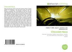 Portada del libro de Chevrolet Nova