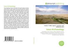 Iowa Archaeology kitap kapağı