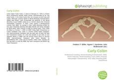 Bookcover of Carly Colón