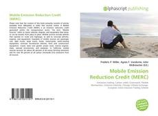 Bookcover of Mobile Emission Reduction Credit (MERC)