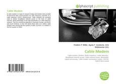 Portada del libro de Cable Modem