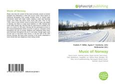 Buchcover von Music of Norway