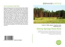 Cherry Springs State Park kitap kapağı