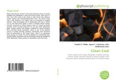 Bookcover of Clean Coal