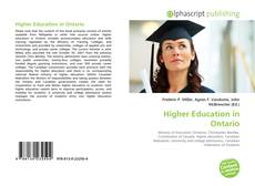 Bookcover of Higher Education in Ontario