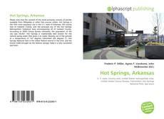 Hot Springs, Arkansas kitap kapağı