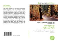 Hot Springs National Park kitap kapağı