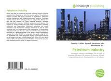 Capa do livro de Petroleum industry