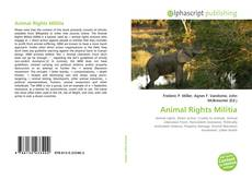 Capa do livro de Animal Rights Militia