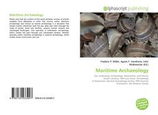 Bookcover of Maritime Archaeology