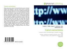 Bookcover of Const-correctness