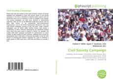 Bookcover of Civil Society Campaign