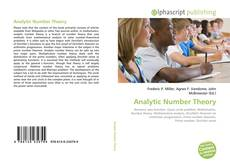 Bookcover of Analytic Number Theory