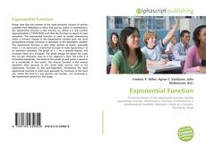 Bookcover of Exponential Function