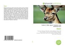 Bookcover of Deer