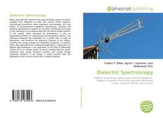 Bookcover of Dielectric Spectroscopy