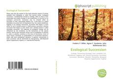 Bookcover of Ecological Succession