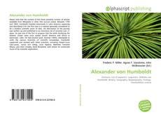 Bookcover of Alexander von Humboldt