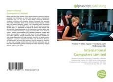International Computers Limited的封面