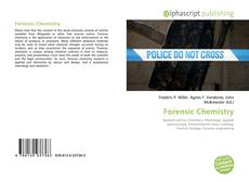 Couverture de Forensic Chemistry