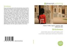 Bookcover of Britishness
