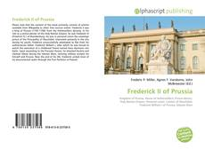 Bookcover of Frederick II of Prussia