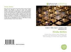 Bookcover of Hindu deities