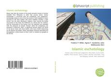 Bookcover of Islamic eschatology