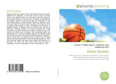 Bookcover of Asian Games