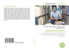 Bookcover of Japanese literature