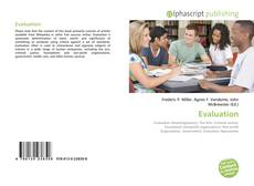 Bookcover of Evaluation