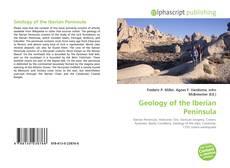 Portada del libro de Geology of the Iberian Peninsula
