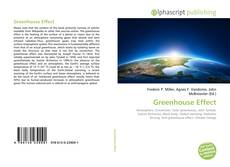 Bookcover of Greenhouse Effect