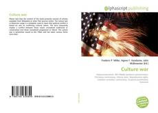 Bookcover of Culture war